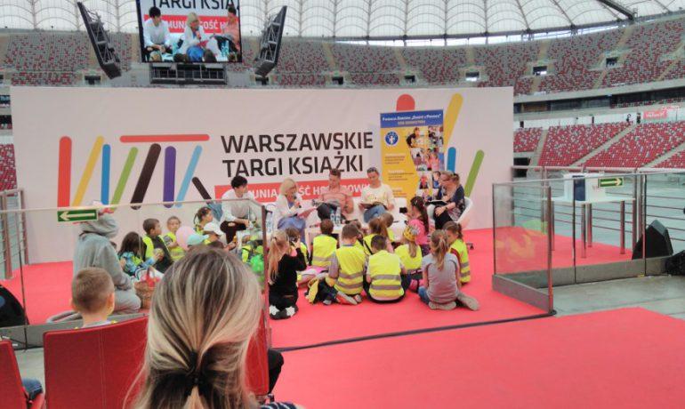 Czytelnicze święto w Warszawie i my!